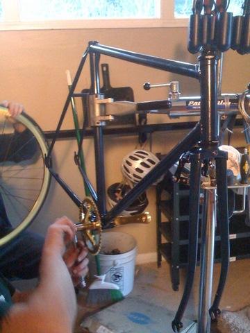 Justin's Bike Build