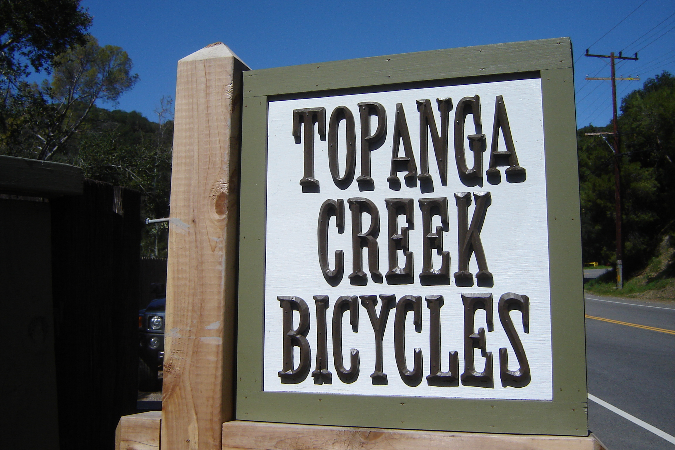 We are changing the name to Topanga Creek Bicycles