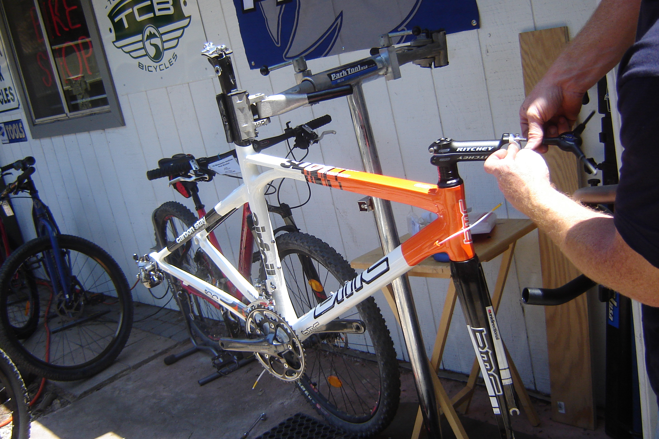 BMC SL01 Orange for Darryl