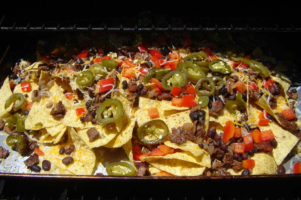 Grilling Nachos.  Who knew?