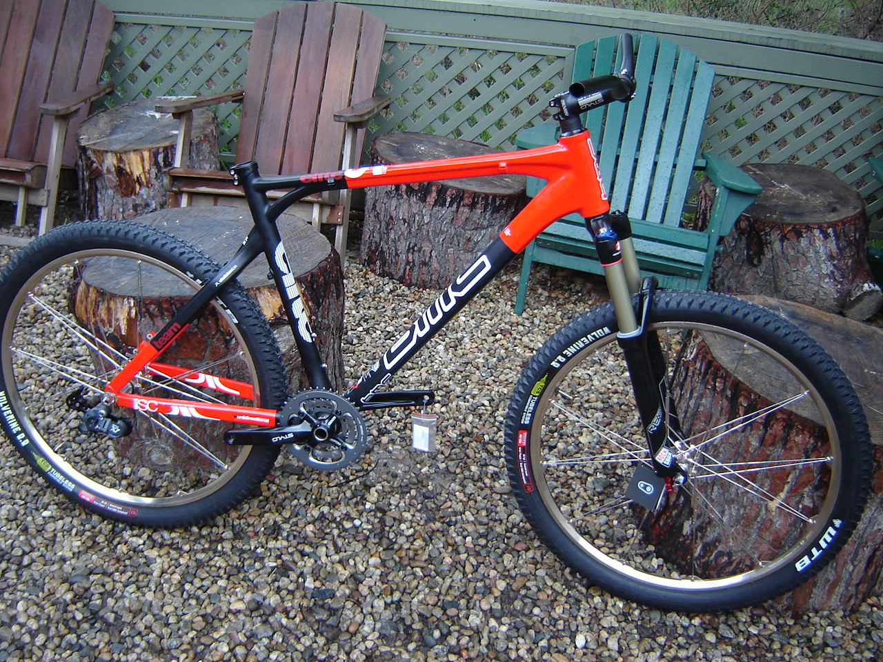 Custom Mountain Bikes Semi Custom Mountain Bike